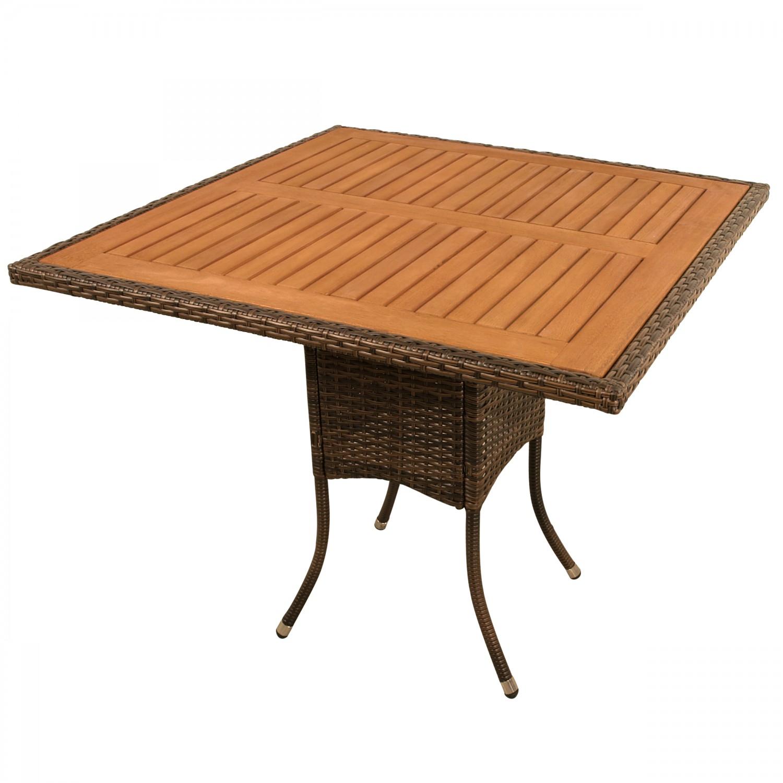 Gartentisch Quadratisch Holz Obi Holz Gartentisch Harris
