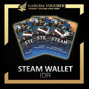 IDR STEAM WALLET