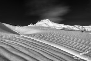 Mount Hood Monochrome