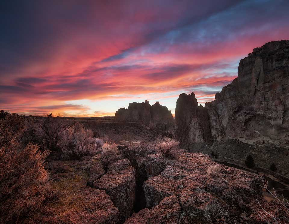 Smith Rock in Central Oregon