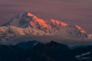 Denali Alaska Sunrise