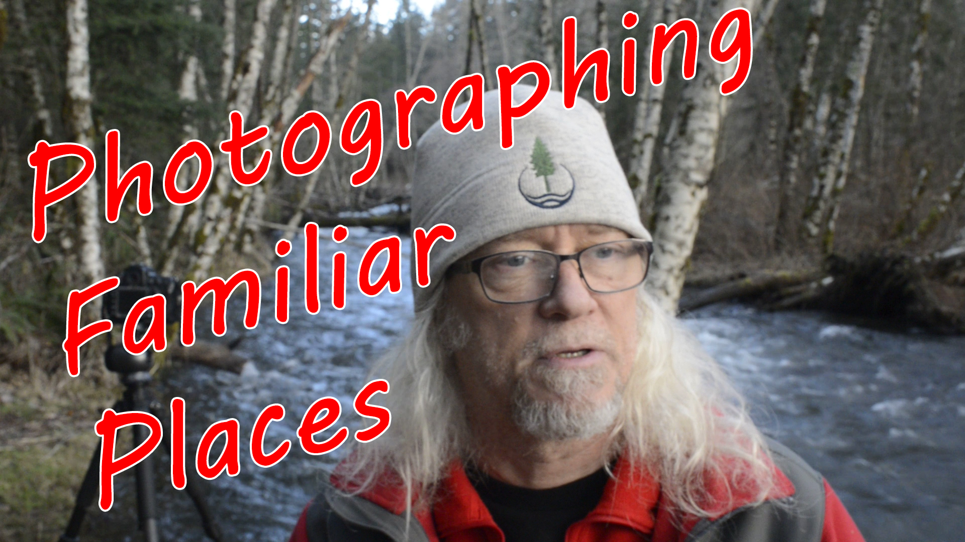 Photographing the Upper Sandy River Oregon