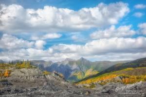 Near the Matanuska Glacier Alaska
