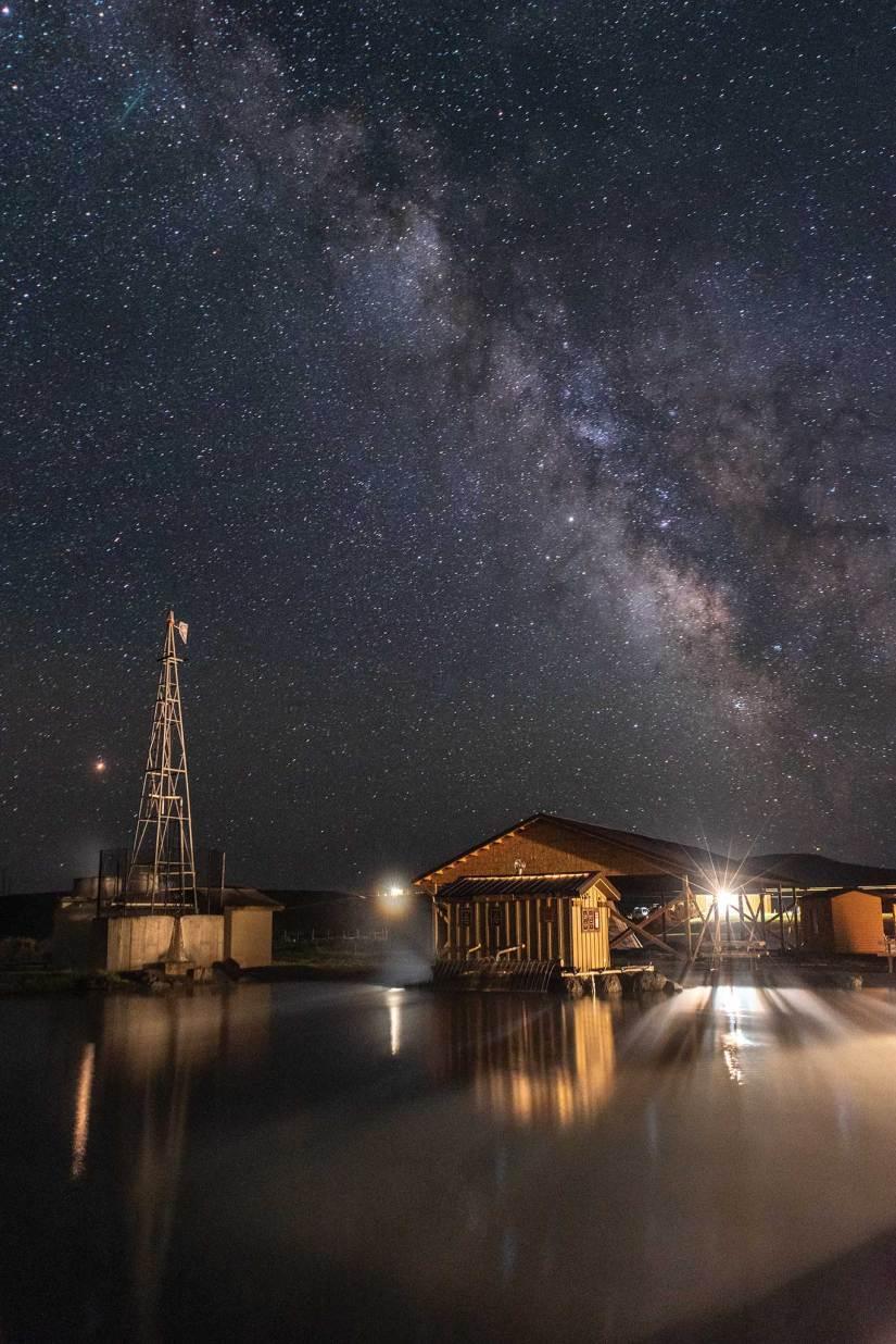 Crystal Crane Hot Springs Milky Way