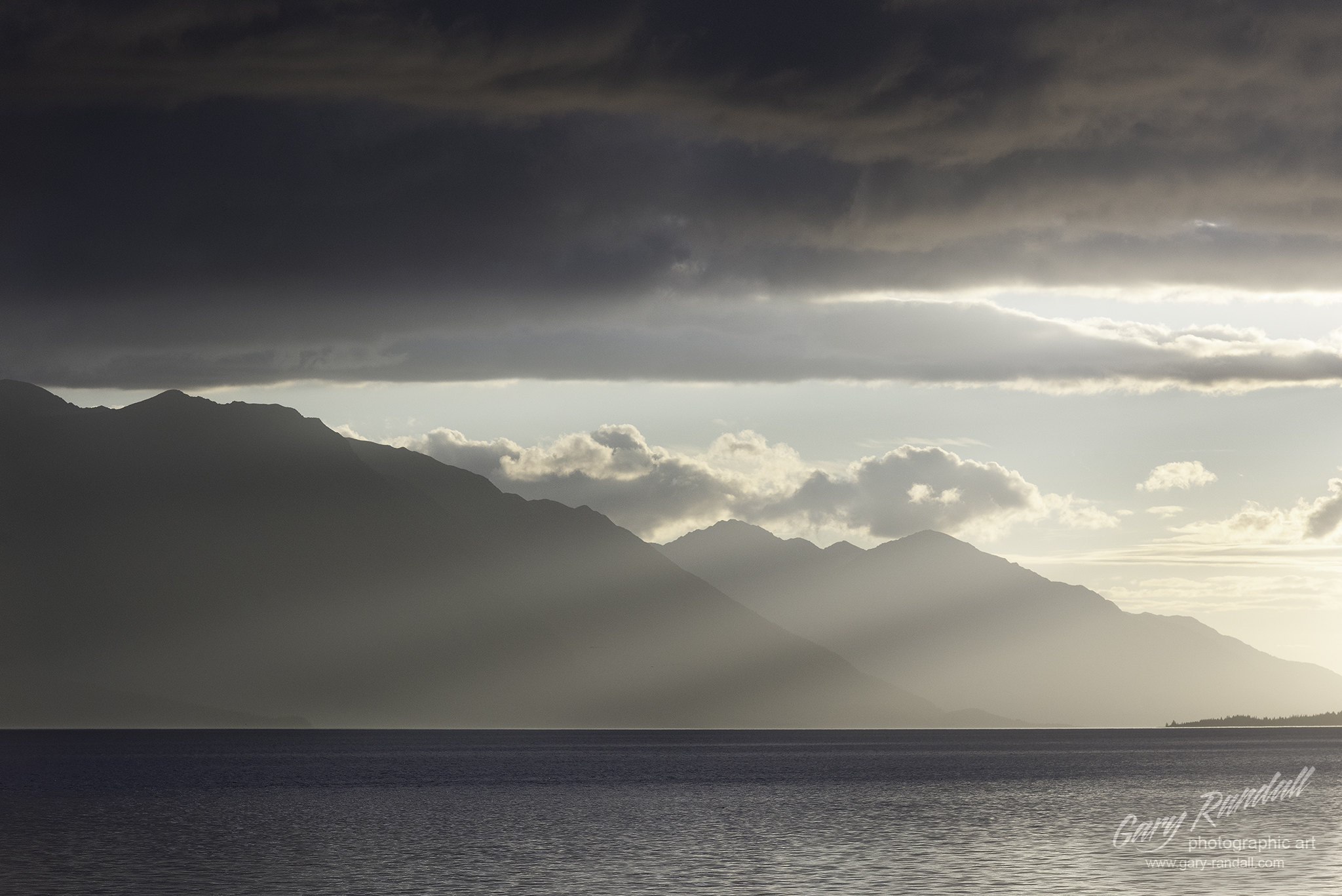 Turnagain Arm Sunbeams