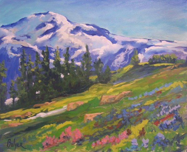 Paintings of Mount Rainier National Park
