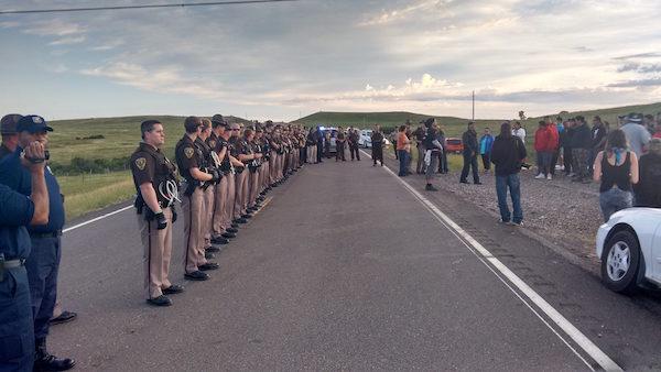Dakota Access Pipeline protectors