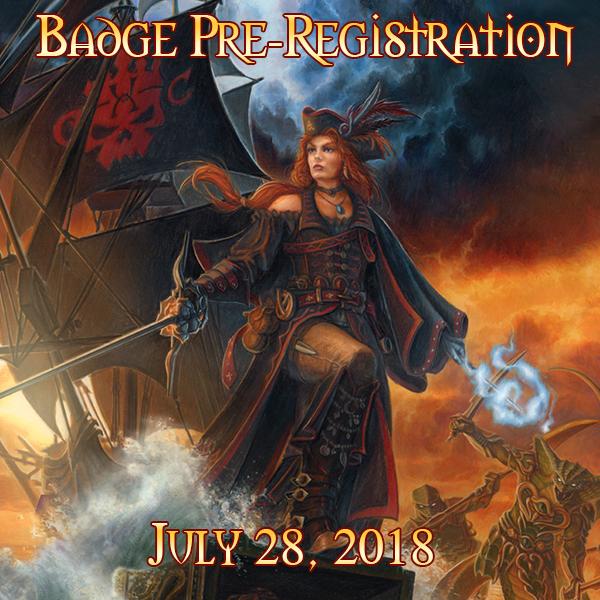 Badge Pre-Registration