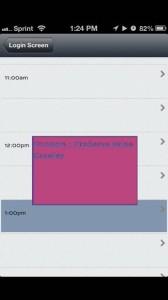 PlanPlusOnline Mobile UI-Calendar