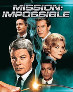 Austin wrote for the original 'Mission: Impossible' TV series, long before Tom Cruise and J.J. Abrams came along.