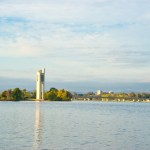 National Carillon on Lake Burley Griffin Bridge to Bridge Gary Lum