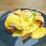 Eggs Benedict from Chatterbox Gary Lum