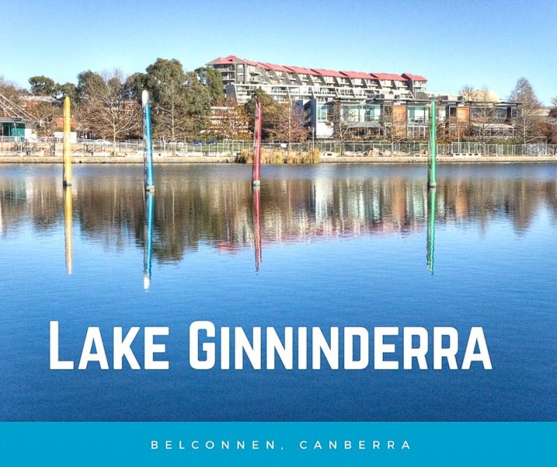Lake Ginninderra bollards Gary Lum