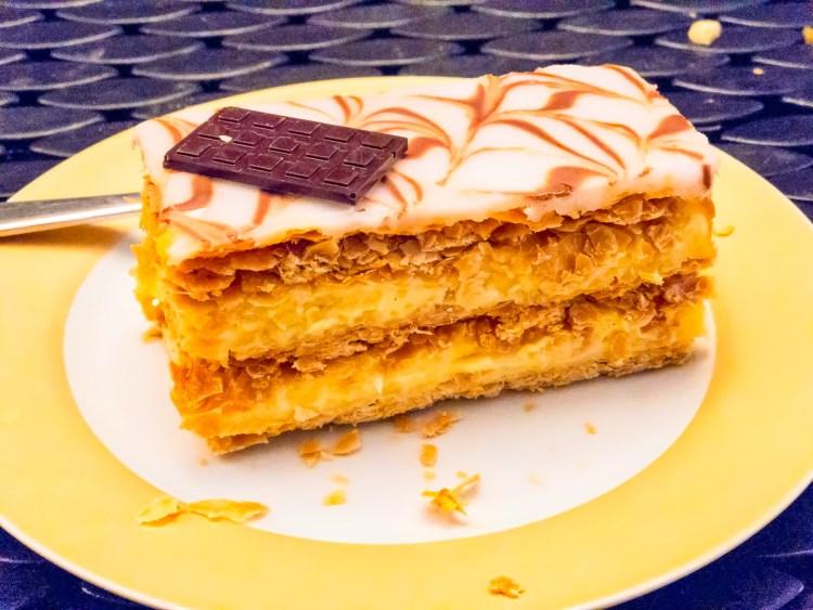 Flute vanilla slice Gary Lum