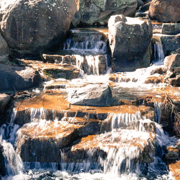 Water fall at John Knight Memorial Park Gary Lum