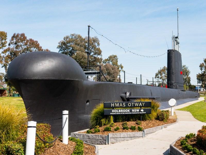 HMAS Otway at Holbrook Gary Lum
