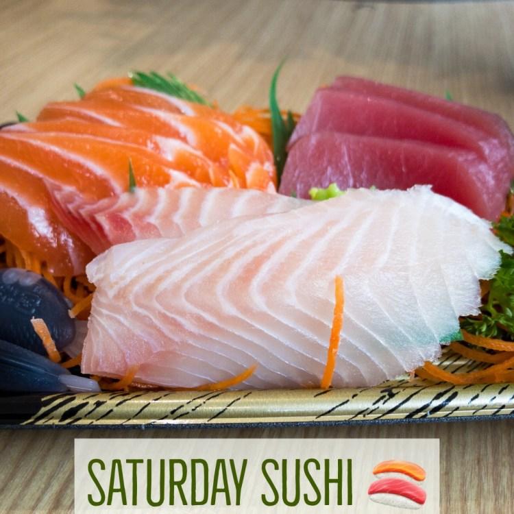 Sushi Saturday lunch Gary Lum