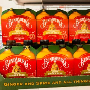 Bundaberg Spiced Ginger Beer. Who knew my favourite drink would get the spice treatment. Gary Lum