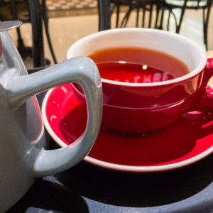 Earl Grey tea from Everbean Espresso Bar, Belconnen. Stalled weight loss. Gary Lum.