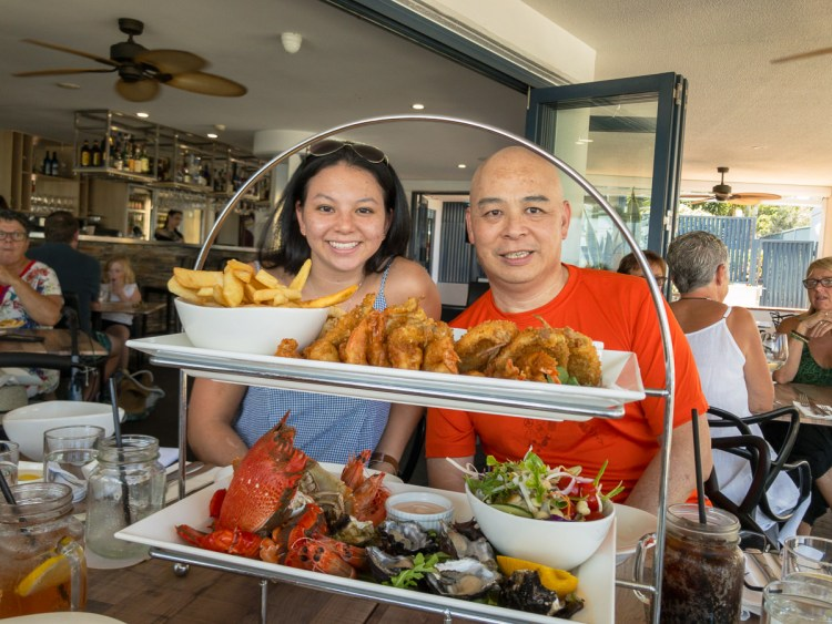 Alfie's Mooo Char & Bar Seafood Platter Australia Day
