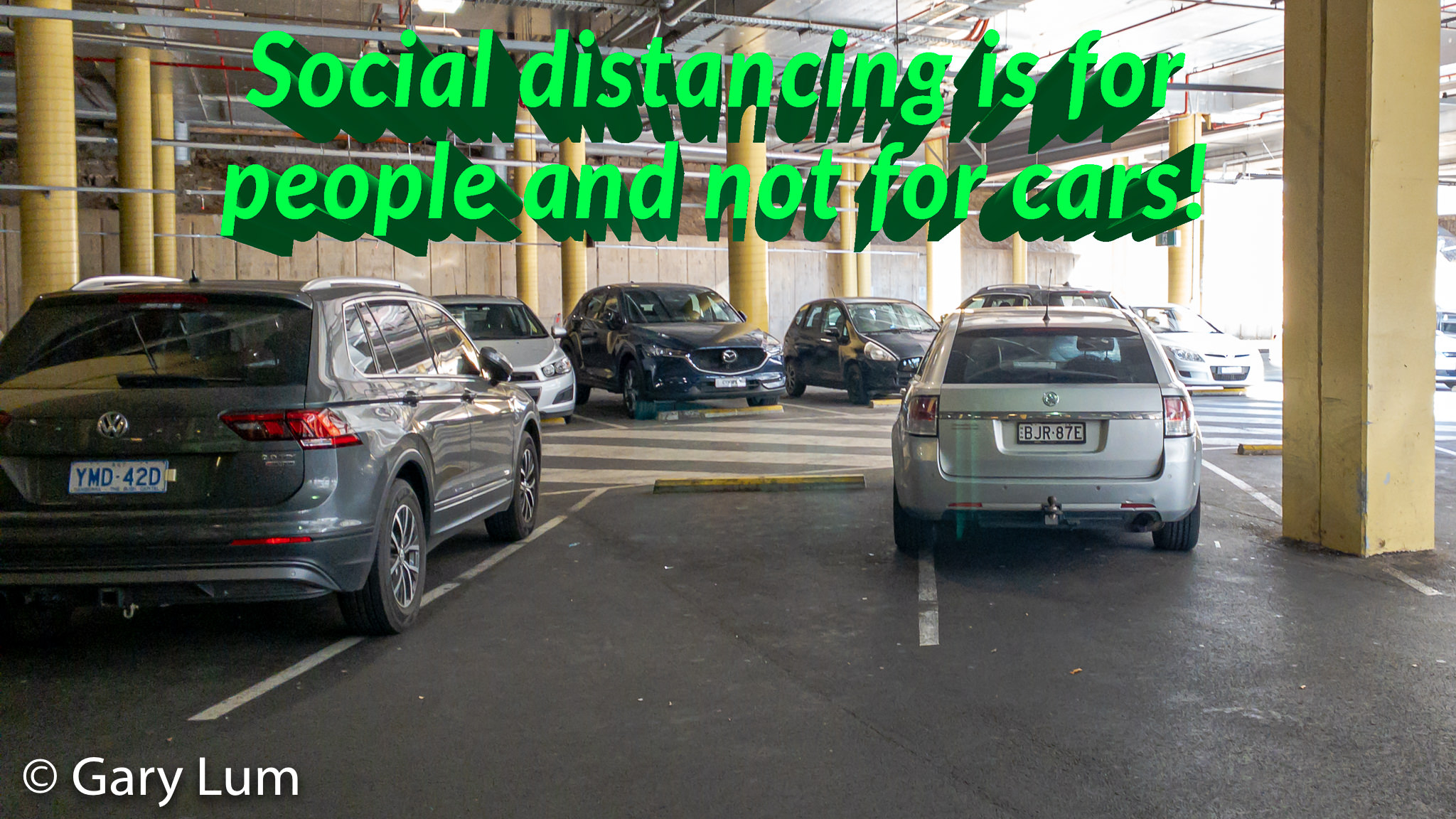 Physical distancing or social distancing