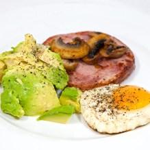 Monday2014-01-13 06.42.34AEDT Ham steak breakfast
