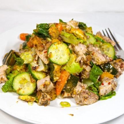 Wednesday2014-01-15 18.37.17AEDT Warm chicken salad