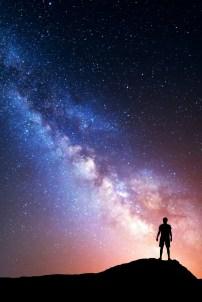 Man and stars shutterstock_363444638