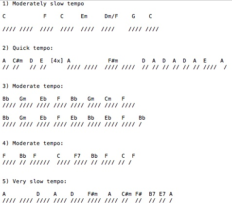 Because these chords were originally used for folksongs does not mean