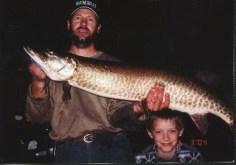 Caught in the waterway between lake Marquette and Lake Bemidji.