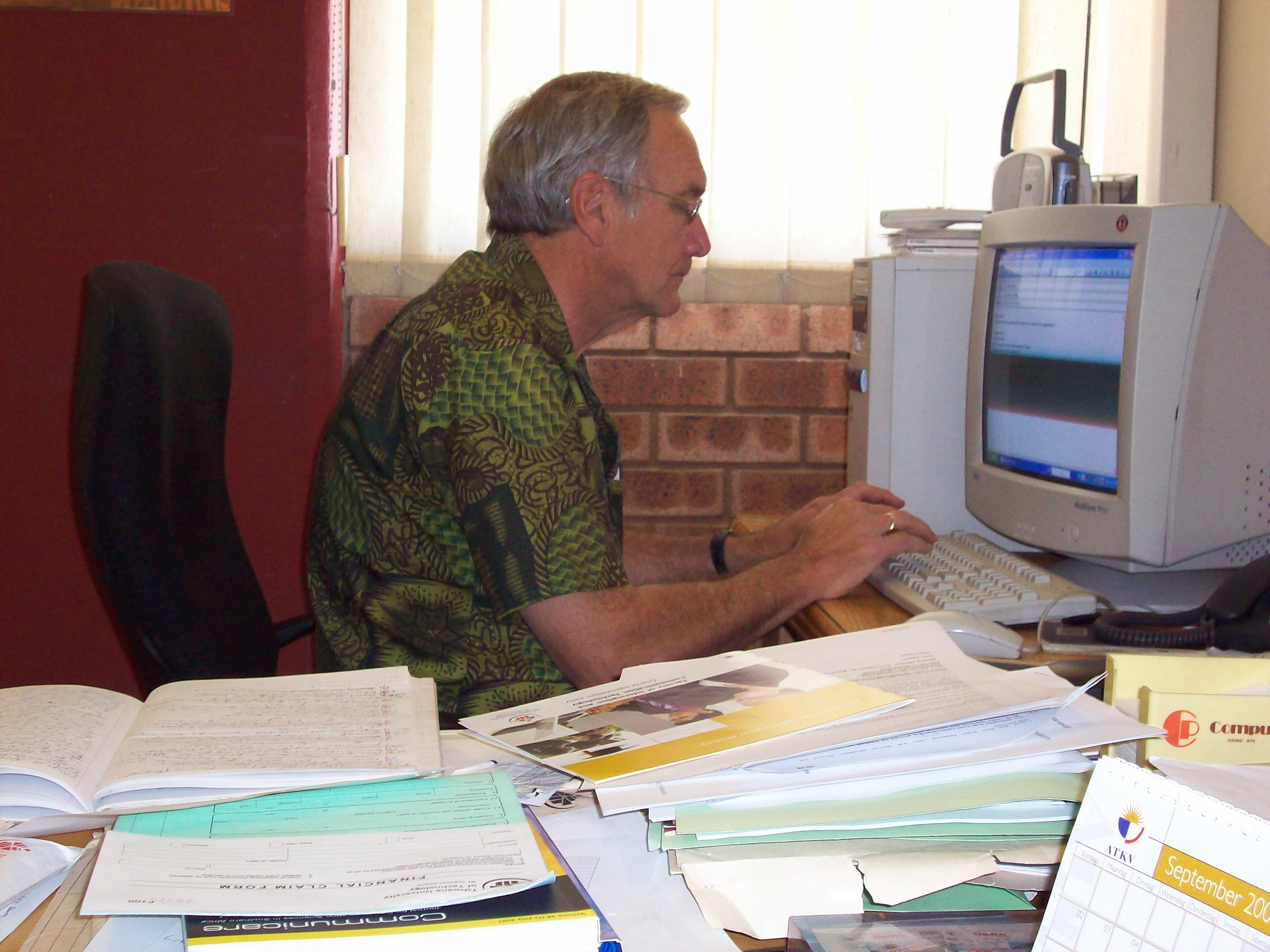 Pedro Diederichs heads the Journalism Department at Tshwane University of Technology in Pretoria, South Africa