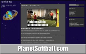 PlanetSoftball.com Softball Websites Review Listings