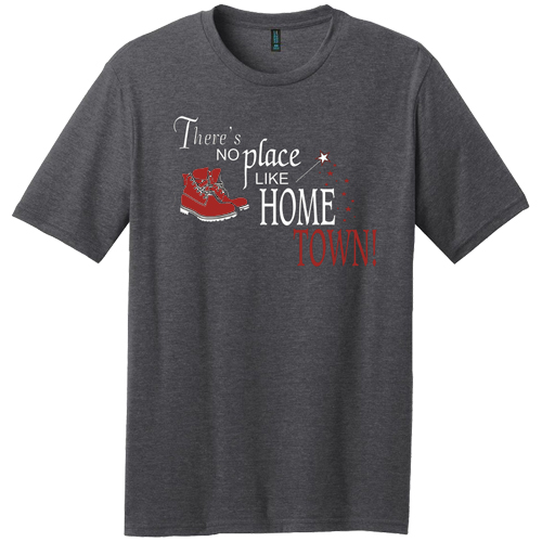Theres No Place Like Home Town Podcast T-Shirt