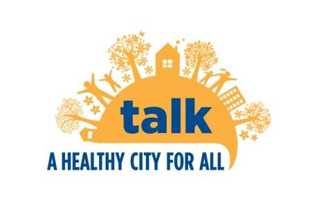 """""""Talk"""" A Healthy City for All – Emblem"""