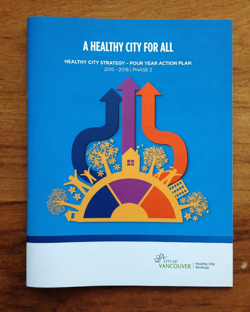 Healthy City for All – Action Plan Phase 2 | Cover