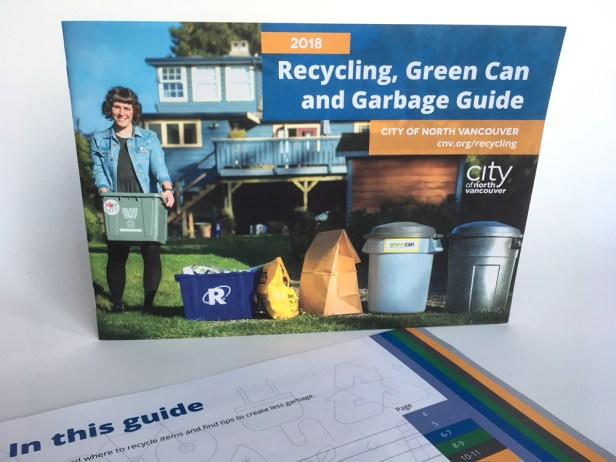 City of North Vancouver | 2018 Recycling, Green Can and Garbage Guide