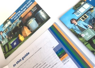 City of North Vancouver | 2018 Recycling, Green Can and Garbage Guide | Colour Coded Tabs