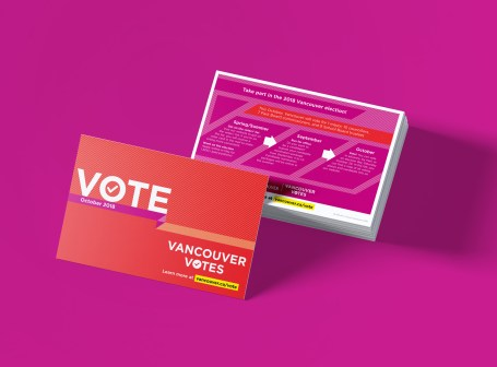 Vancouver Election | Vote Postcards