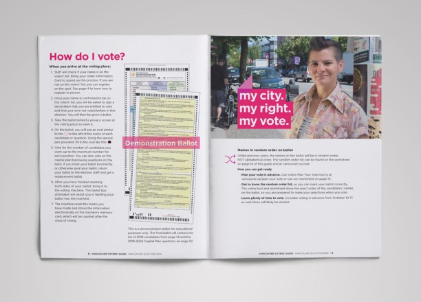 Vancouver Voters' Guide | How do I vote? What is Random Order?