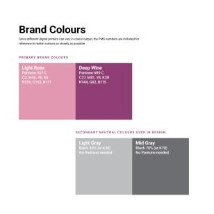 Logo colours