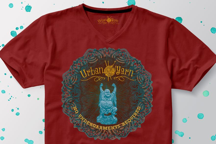 Urban Yarn V-Neck T-Shirt