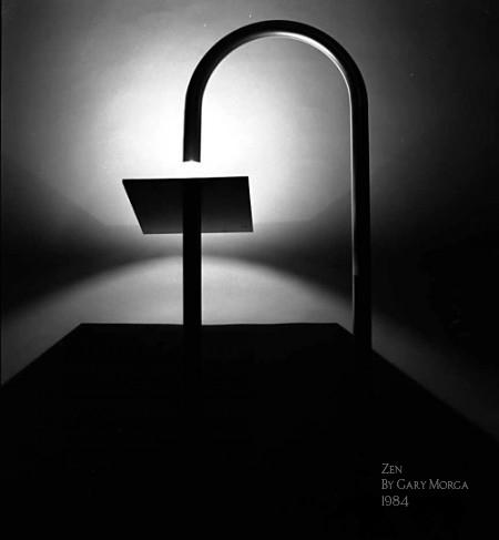 ZEN terra, floor lamp 1984, GaryMorga