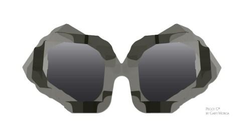 Peggy G Eyewear, postmodern design