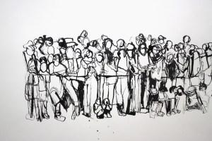 People Watching Source: http://meganhinton.com/drawings-slideshow#7