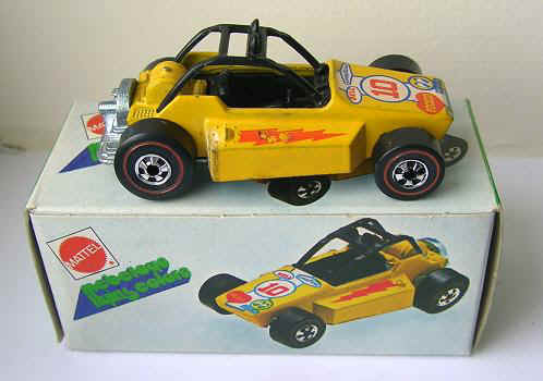 A series of Hot Wheels made for the Italian market and sold under the acquired Mebetoys brand