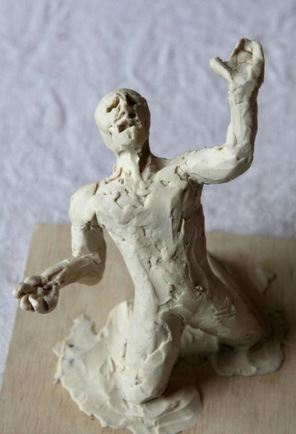 Artists Emotional Bunch Gary Scott' Sculpture