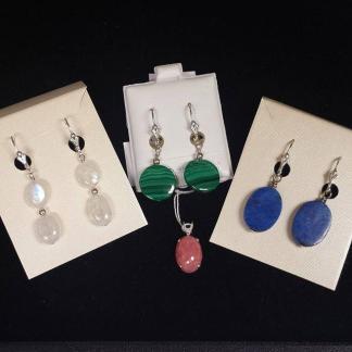 Sterling Silver & Gem Jewelry