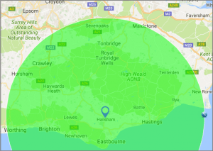 30 mile radius from Hailsham for driveways, patios, groundwork and drainage for residential and commercial customers