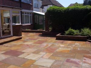 Indian Stone Patios by Gary Simes in East Sussex