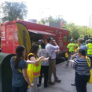 garyssteaks food truck rental Doka group Construction company brooklyn
